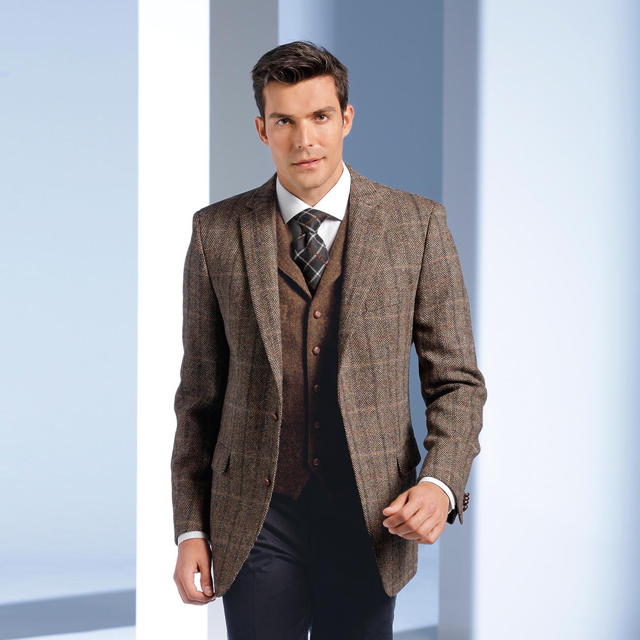La Grande Homme Tweed J'ai Classe Veste RfYw6qx