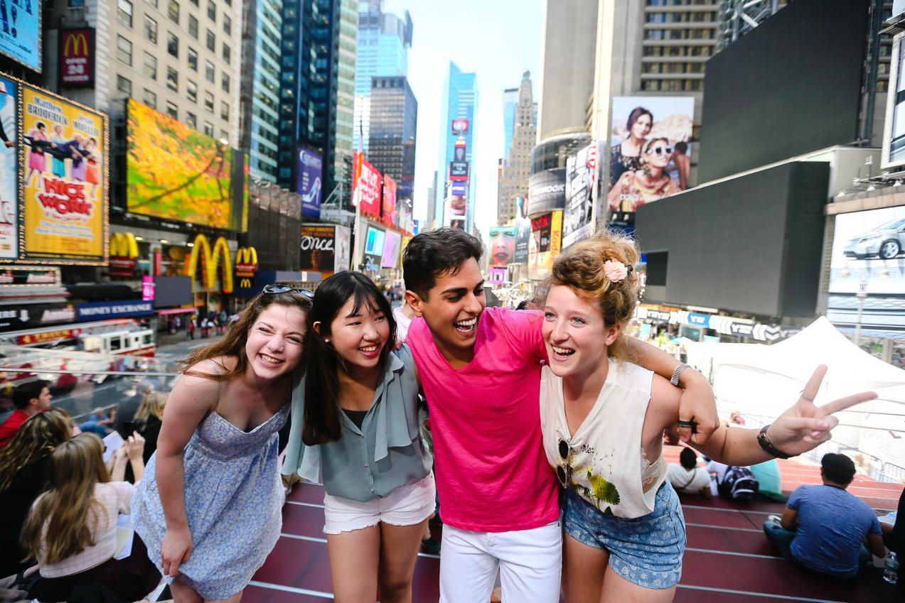 Rencontre entre jeunes avec sejour-linguistique-usa.net
